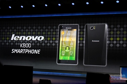 Lenovo K800,Lenovo K800 smartphone