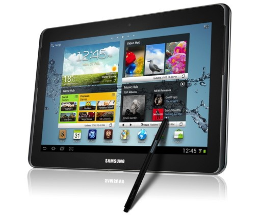 Samsung Announces Galaxy Note 10.1 At Mobile World Congress 2012