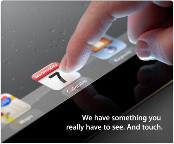 Apple Confirms iPad 3 Media Event For March 7 In San Francisco
