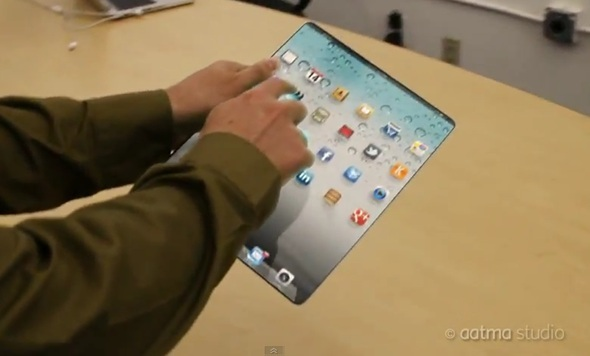 New iPad 3 Concept Shows Edge To Edge Screen, Retina Display And Lots Of Other Cool Stuff [VIDEO]