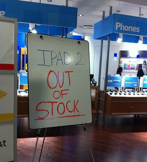 Constrained iPad 2 3G Supply, Another Clue Of iPad 3 Unveiling