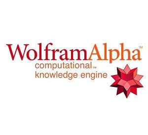 Wolfram Alpha,Wolfram Alpha logo,logo Wolfram Alpha