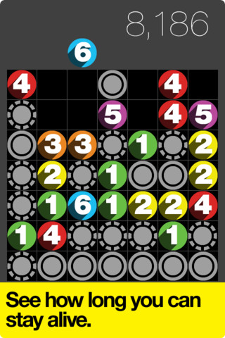 Drop 7 for iphone,Drop 7 puzzle for iphone,iphone Drop 7 puzzle game,Drop 7 puzzle game,puzzle Drop 7