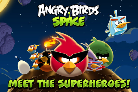 Angry Birds Space Now Available For Android, iPhone, iPad, iPod Touch, MAC & PC — Download Now 1