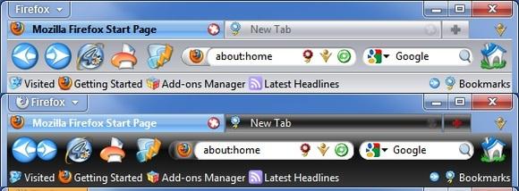 Top 10 Mozilla Firefox Themes – 2012 | Gizmocrazed - Future