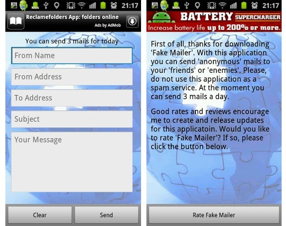 Send Anonymous Emails From Your Android Device Using Fake Mailer App