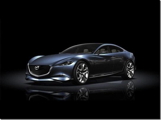 Mazda Shinari,Mazda Shinari concept,Mazda Shinari concept car,concept Mazda Shinari