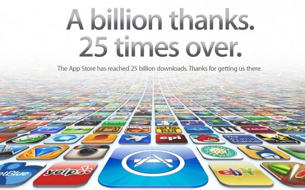 Apple App Store Reaches 25 Billion Downloads Mark 1