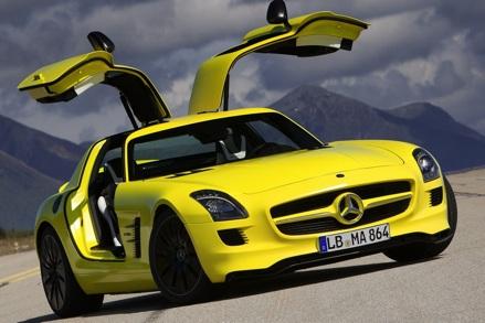 Mercedes-Benz SLS AMG E-Cell,Mercedes-Benz SLS AMG,Mercedes-Benz SLS AMG E-Cell concept,Mercedes-Benz SLS AMG concept,Mercedes-Benz SLS AMG E-Cell concept car,Mercedes-Benz SLS AMG concept car