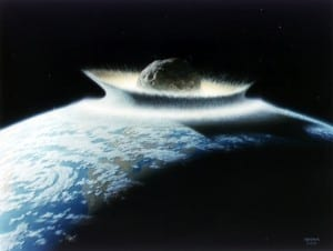 Collision of an Asteroid,Asteroid