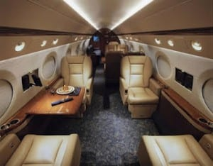 Gulfstream G550,Gulfstream G550 interior