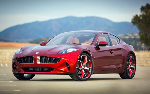 Fisker Unveils Atlantic Luxury Hybrid Sedan 1