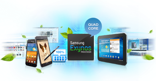 Samsung Unveils Exynos 4 Quad, The Quad Core Processor For Galaxy S III