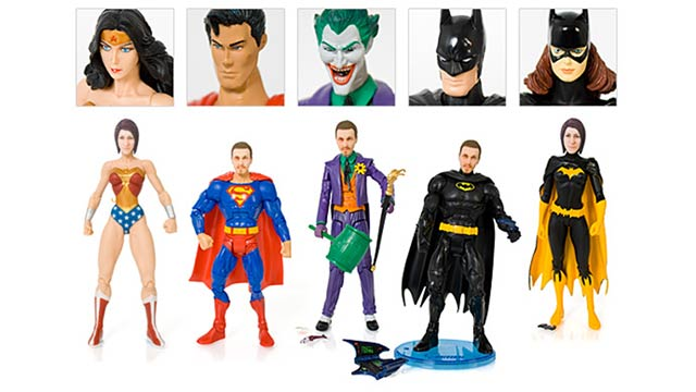 Have Your Own Face On A Super-Hero Action Figure 1