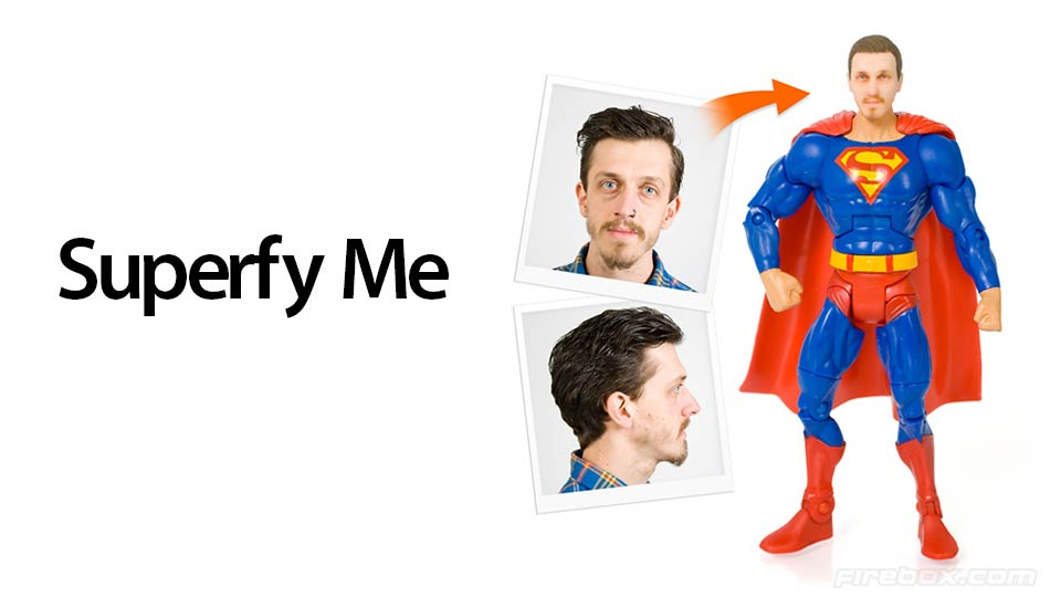 have your own face on a super hero action figure gizmocrazed