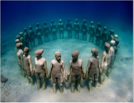 Underwater Sculpture Park [PHOTOS] 1