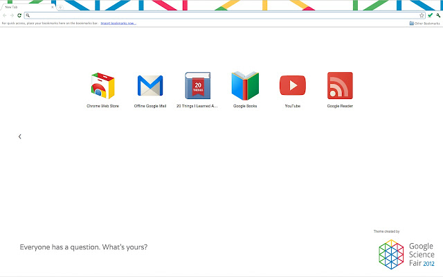 Top 10 Google Chrome Themes – 2012 1