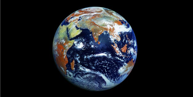 Earth In One Shot: The Most Detailed 121-megapixel Image Of Earth Captured By Russian Satellite