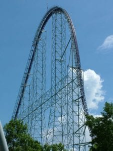 Millennium Force Roller Coaster,Millennium Force Roller Coaster ride,Roller Coaster Millennium Force