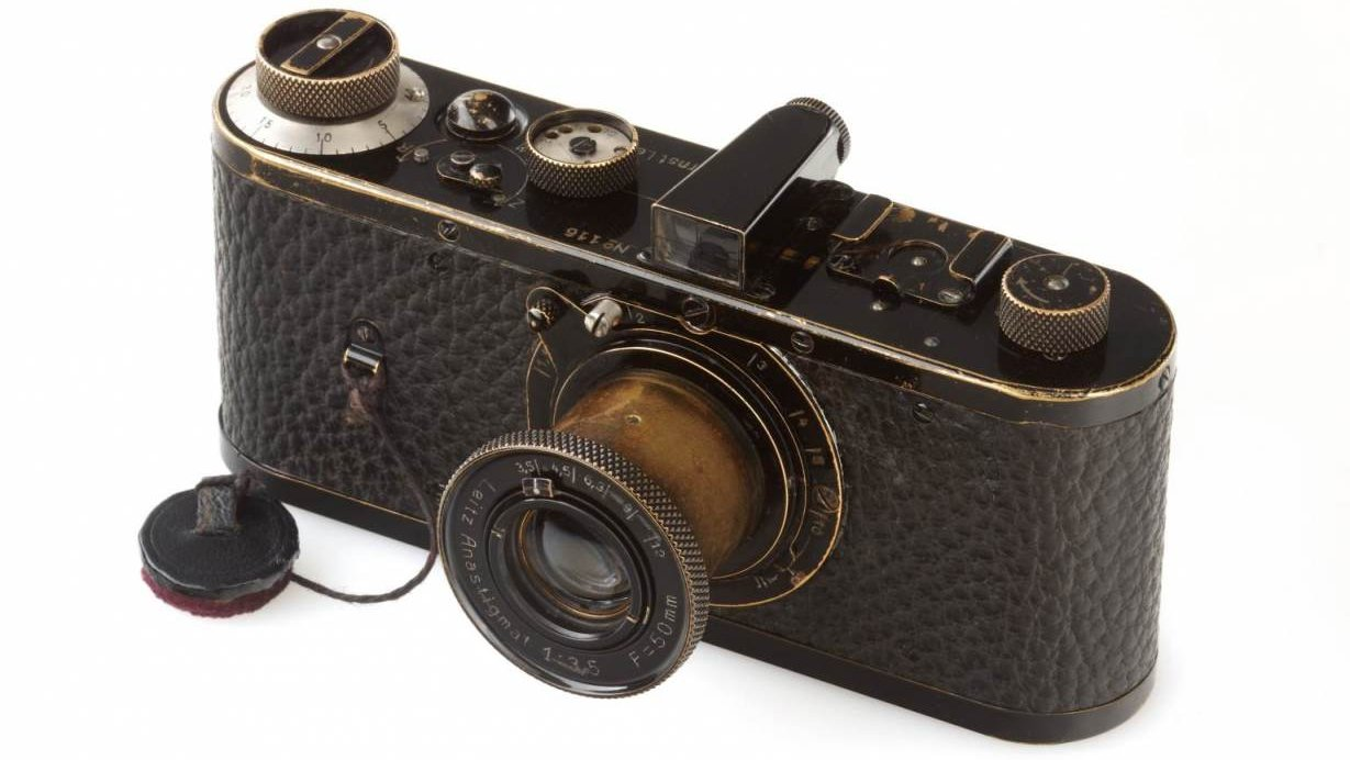 The World's Most Expensive Camera Sold For $2.8 Million