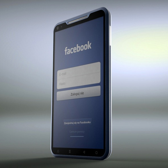 This Awesome Facebook Smartphone Concept Will Compel You To Buy It [PHOTOS] 1