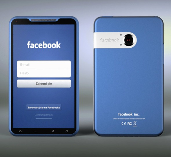 Facebook Phone,Facebook smartphone concept,Facebook smartphone concept design,concept design facebook,concept design facebook smartphone,facebook smartphone