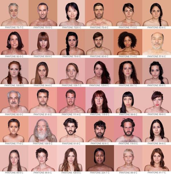 skin-tone-chart, Humanae skin colour, Humanae, Humanae skin, human skin tone, Humanae project, project Humanae