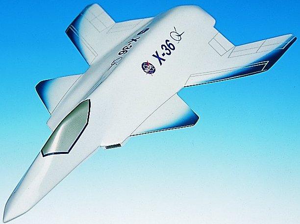 NASA Boeing X-36, NASA X-36, NASA Boeing X-36 concept
