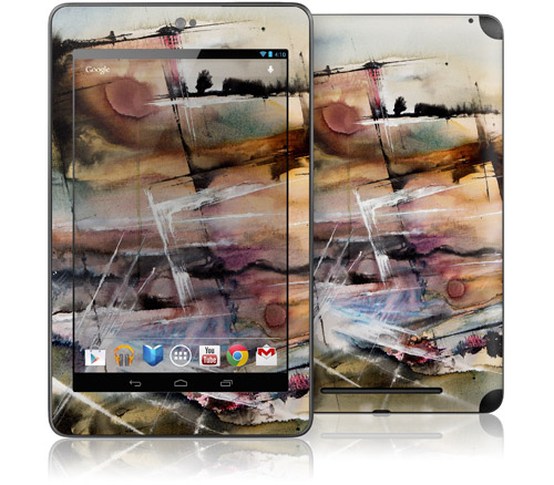 Driving at Dusk, Starry Night Case, Hard Cover Case, GelaSkin, nexus 7 cases, nexus 7 GelaSkin
