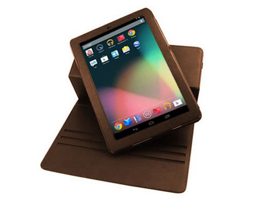 Brown Convertible Case, Hard Cover Case, FocalCase 360 degree Rotating Leather Folio, nexus 7 cases, nexus 7 FocalCase 360 degree Rotating Leather Folio