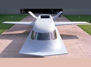Northrop Tacit Blue, Northrop Tacit Blue concept, Tacit Blue concept