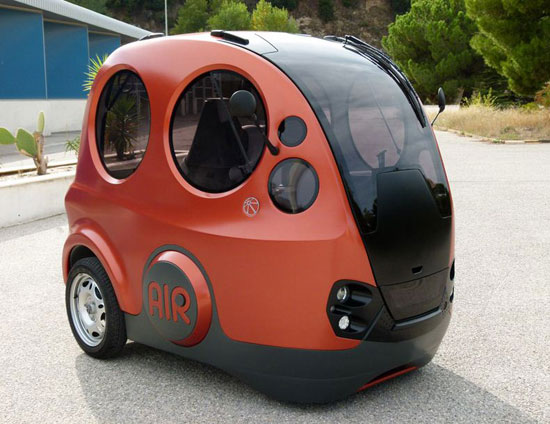 This Tiny Car Runs On Air!