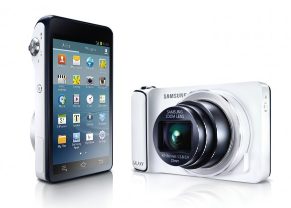 Samsung Unveils Galaxy Cam - The Best Android Point-and-Shoot Camera