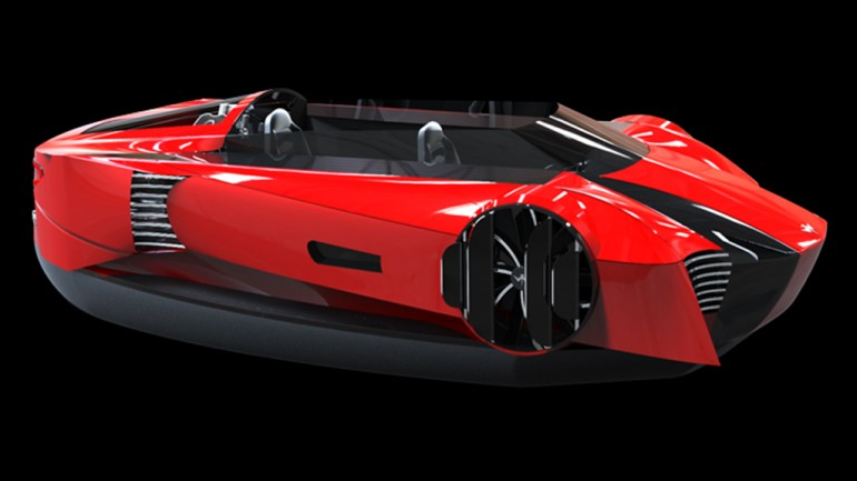 This Could Be The First Commercial Hovercraft With Style