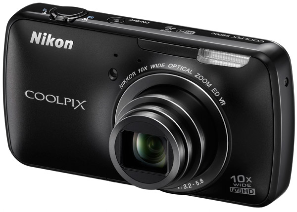 Nikon Coolpix S800c: First Ever Android Powered Compact Camera Is Here