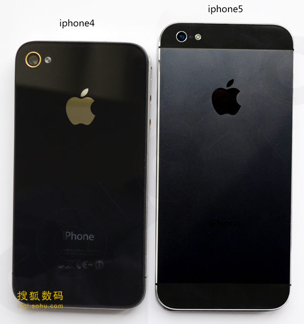 A Look At The iPhone 5 Compared To iPhone 3GS / 4 [PHOTOS]
