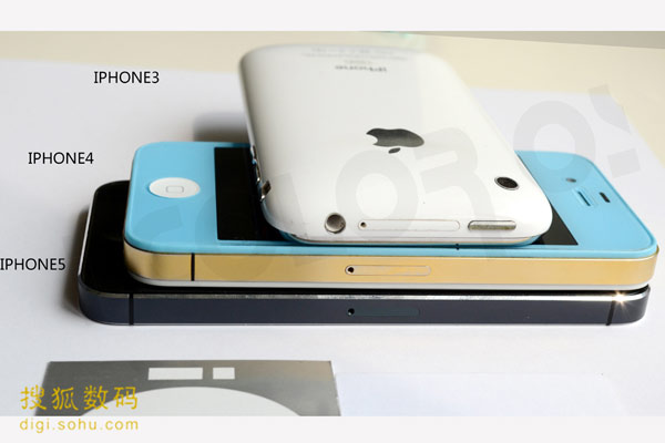 iPhone 5, iphone 5 vs. iphone 4 vs. iphone 3, iphone 4, iphone 3