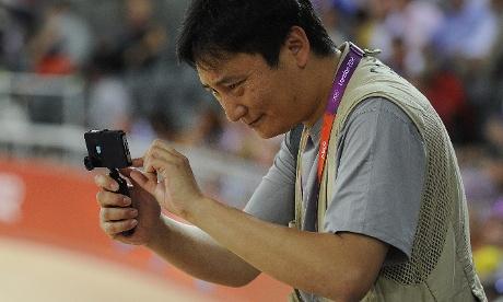 iPhone Olympics, Photojournalist Dan Chung, Dan Chung iphone camera shots, Dan Chung london olympics 2012,Dan Chung london olympics, Dan Chung guardian