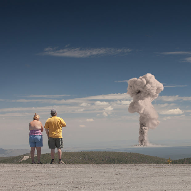 A Beautiful Disaster - Tourists Overlooking Nuclear Explosions