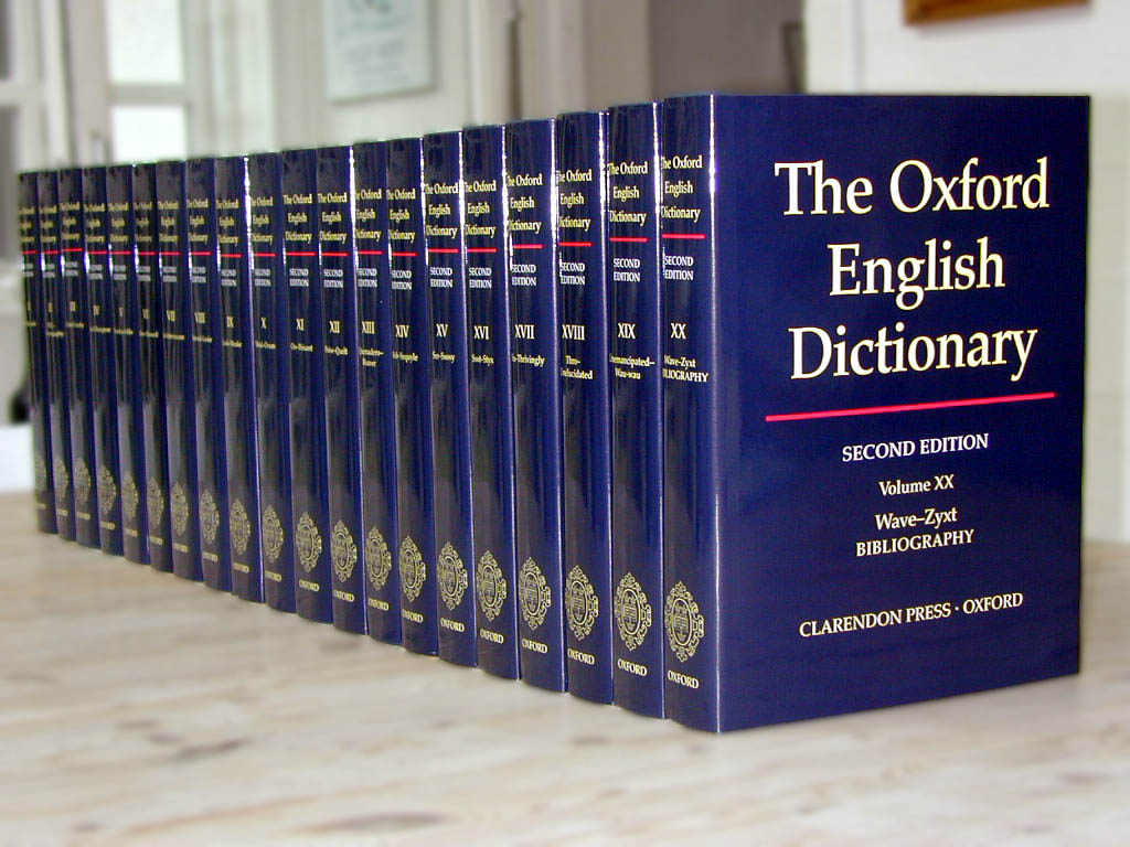 Wacky New Words In The Oxford Dictionary Online