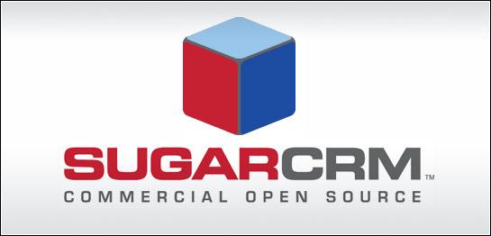 sugarCRM logo, logo sugarCRM