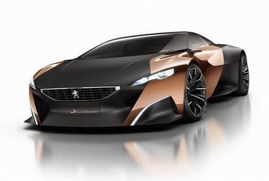 Peugeot's Reveals Green Hybrid Supercar Concept