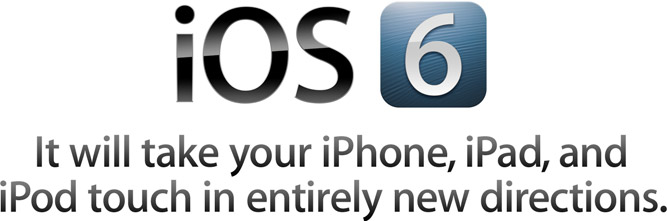 iOS 6, logo iOS 6, iOS 6 download, download iOS 6