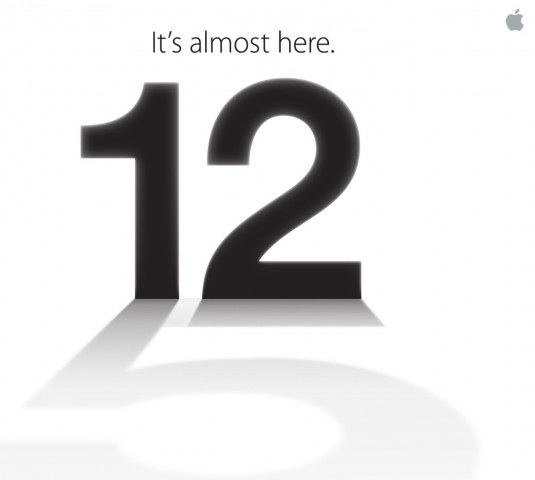 The iPhone 5 - It's Almost Here - Launch Event On September 12th