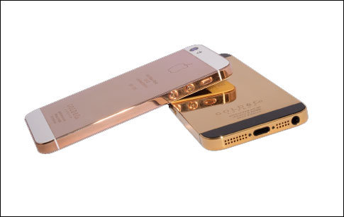 Solid Gold iPhone 5 Being Sold In Dubai, Cost Only $5000