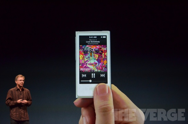 Apple Unveils Brand New iPod Nano and iPod Touch 1