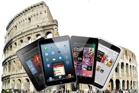 The Tiny Tablet Arena - iPad Mini vs. Nexus 7 vs. Kindle Fire HD vs. Nook HD
