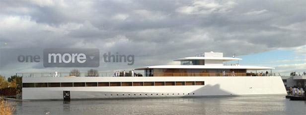Steve Job's Dream Yacht - The Venus - Unveiled