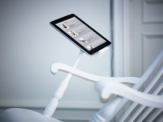The iRock: Use This Rocking Chair to Charge Your iPhone and iPad