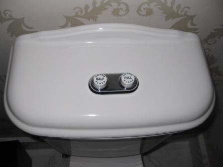 Aussie Inventions, Dual-flush Toilet, Dual flush Toilet